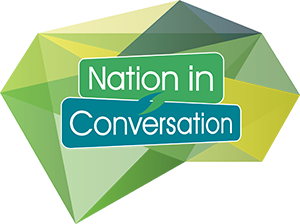 Nation in Conversation Logo