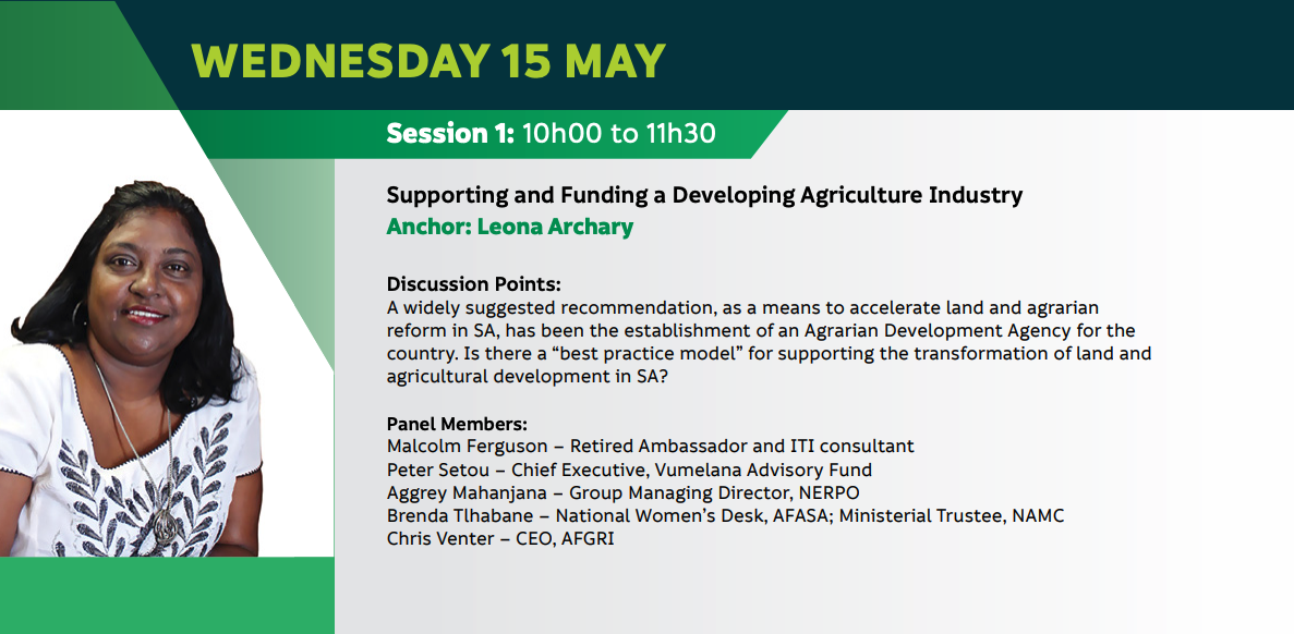 Supporting and Funding a Developing Agriculture Industry